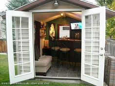 Clean out that toolshed and turn it into a Pub Shed!