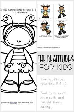 The Beatitudes FREE Printable Pack