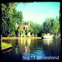 Isn't it beautifull? - Friesland the location of the #Sup11CityTour?
