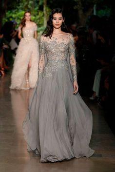 Elie Saab alta costura: Una oda al romance envuelta en preciosos vestidos de fiesta 2015 [Fotos]