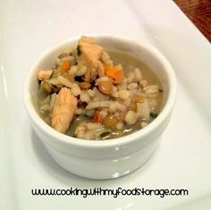 Meals in a Jar Monday: Mulit Grain Chicken Soup