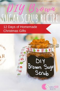 DIY Sugar scrub need