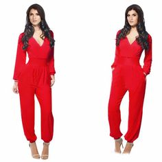 Free Shipping New 2017 Onesies Jumpsuit women's overall sexy fashion waist jumpsuit pants coveralls colors XL plus size