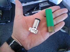 explosive shot gun round