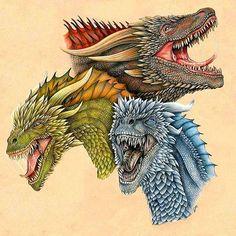 Ancalagon, Abra and Severin