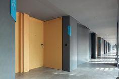 IZE HOTEL / Studio TonTon #corridor #hallway #lighting
