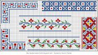 Free Easy Cross, Pattern Maker, PCStitch Charts + Free Historic Old Pattern Books: Embroidery Drawings - Issue 1 1938 вышивок рисунки - выпуск 1 1938г.