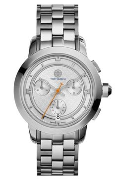 Tory+Burch+'Tory'+Chronograph+Bracelet+Watch,+37mm+available+at+#Nordstrom