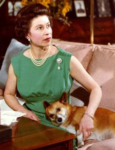 As Queen Elizabeth II celebrates 60 years on the throne, we look back at her love affair with her favorite animal: the corgi. Her first, Susan, was given to her on her eighteenth birthday and since then, the Queen has owned four to five at a time. George Vi, Roi George, God Save The Queen, Prinz Philip, Reine Victoria, Queen Victoria, Pekinese, Isabel Ii, Her Majesty The Queen
