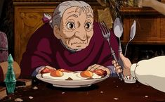Hauru no ogoku shiro (Howl's Moving Castle) - 2004 Totoro, Howl And Sophie, Studio Ghibli Movies, Howls Moving Castle, Hayao Miyazaki, Animation Film, Anime Comics, Cute Illustration, Aesthetic Anime