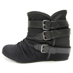 buckle ankle boots. Big sale on these boots. $25