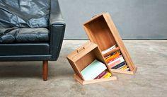 Hole in the Floor Bookcases - Raw Edges Design Studio