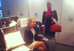 Fasten your seatbelts, Brussels Airlines & Xandres fly you in style to New York JFK ! by ILoveStyle.be