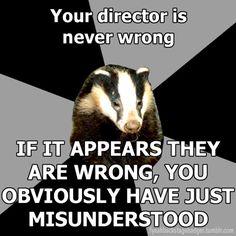 @CHANEL Vismara Director Problems.. not calling Liz... Backstage Badger