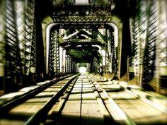Going. by Jonathan Pesce on Capture Memphis // Take a bridge to the past. Nostalgia breeds smiles.