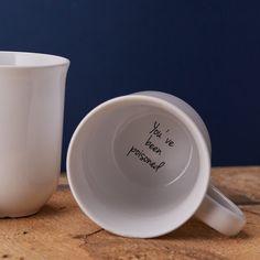 Funny 'You've Been Poisoned' Hidden Message Mug by TheLetterLoftUK (13.99 GBP)