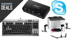 Great deals today on USB chargers, a Qi pad, Clone Wars, mechanical keyboards, and more.