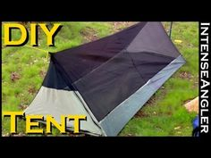I would totally make something similar to this, only with tarp, mosquito netting, and 3 times the size, so it's for more than one sleeper...with a tarp rain fly