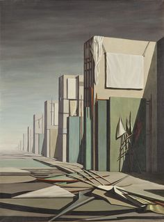 Kay Sage - 'No Passing', 1954www.transitionresearchfoundation.com