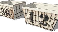 SET DE 2 PANIERS ARGOS, maisons du monde, ref 139299 prix79,90 € - 3D Warehouse