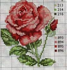 This Pin was discovered by Ayş Cross Stitch Cards, Cross Stitch Rose, Cross Stitch Flowers, Cross Stitching, Cross Stitch Embroidery, Cross Stitch Geometric, Modern Cross Stitch, Cross Stitch Designs, Embroidery Patterns