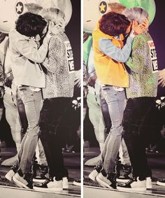 JongHo kiss o.o *fainted* ... And look at Minhos' tippy toes *died*