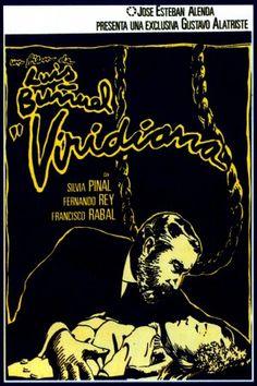 """Viridiana"" Spanish Movie poster Reposition (1977) by Iván Zulueta (Luis Buñuel 1961)"