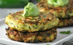 Jalapeño Zucchini Fritters [Vegan] | One Green Planet