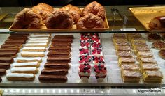 Pastries at the NEW Les Halles Bakery in Epcot's France!