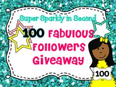 I am participating in Super Sparkly in Second's 100 Fabulous Followers Giveaway!