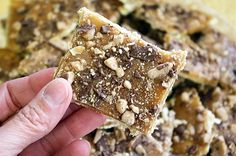 Saltine Toffee Candy aka Cracker Candy - I have to try this. Work...are you willing to try it?!