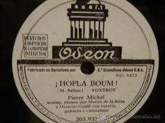 PIERRE MICHEL. ! HOPLA BOUM ! / ! CARAMBA !. SELLO ODEON 25 CM. *** LEER.