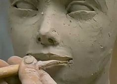 Ceramic Arts Daily – From Sad to Happy in Four Minutes: A Quick Course in Changing Facial Expressions in Figurative Ceramic Sculpture