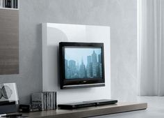 modern tv fireplace entertainment center | modern wall unit tv