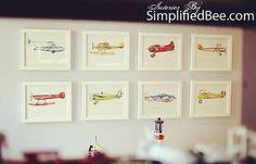 Piper Cub Floatplane / Seaplane vintage by FlightsByNumber on Etsy