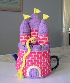 Rapunzel Tea Cosy