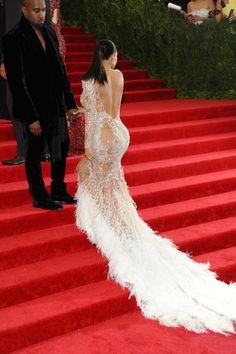 Kim & Kanye at the 2015 MET Gala