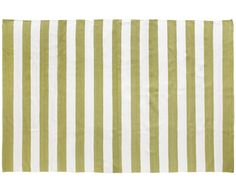 Olive & White Big Stripe Rug - Homeware   Weylandts South Africa