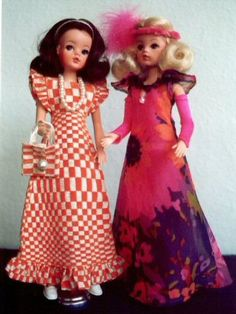 sindy Vintage Barbie, Vintage Dolls, Night Outfits, Cool Outfits, 1970s Dolls, 40th Cake, Tammy Doll, Sindy Doll, Madame Alexander