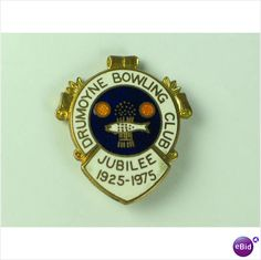 Drumoyne Bowling Club Jubilee 1925-1975 Enamel Badge Listing in the Clubs,Club & Association Badges,Badges & Patches,Collectables Category on eBid United Kingdom