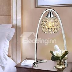 New Arrival Creative K9 Crystal Table Lamp
