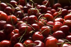 """40 Foods with Superpowers: Bing Cherries - Inflammation Fighter  Research by the U.S. Department of Agriculture shows that eating up to 45 bing cherries a day can lower the risk of tendinitis, bursitis, arthritis, and gout, says Bowerman. Studies also suggest that they reduce the risk of chronic diseases and metabolic syndrome. """"They taste great on yogurt or cereal,"""" says Bowerman"""