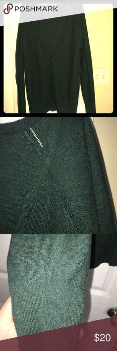 American Eagle Emerald Green Cardigan XL Emerald green sweater Cardigan from AE, women's XL. Originally $45 American Eagle Outfitters Sweaters Cardigans
