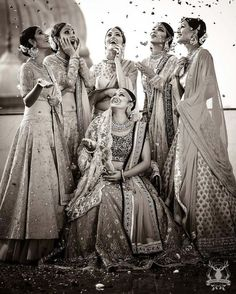 Create memories with your BFF– Bridesmaids photoshoot Ideas WE LOVED! Bridal Poses, Pre Wedding Photoshoot, Photoshoot Ideas, Wedding Shoot, Wedding Dresses, Wedding Ideas, Indian Photoshoot, Wedding Reception, Wedding Flowers