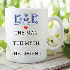 Items similar to Dad Mug The Man The Myth The Legend Fathers Day Gift Christmas Present Gift For Him Dad Mug Cup Birthday Gift For Dad Family on Etsy Christmas Gifts For Men, Best Gifts For Men, Gifts For Boys, Coupons For Boyfriend, Boyfriend Gifts, Teenager Stocking Stuffers, Birthday Presents For Him, Fathers Day Mugs, Dad Mug