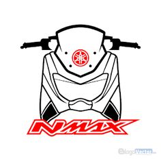 Vector Graphics, Vector Art, Yamaha Nmax, Custom Stickers, Free Stickers, Motorcycle Design, Thai Style, Custom Logos, Logo Design