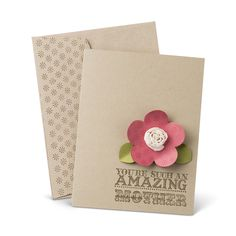 Julie's Stamping Spot -- Stampin' Up! Project Ideas Posted Daily: Amazing Family Mother's Day Card