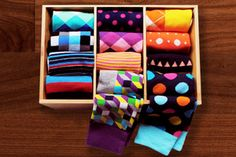 Receive funky socks delivered to your door with Society Socks. Exclusive design; guaranteed to be stylish! http://www.findsubscriptionboxes.com/box/society-socks-subscription/?utm_campaign=coschedule&utm_source=pinterest&utm_medium=Find%20Subscription%20Boxes&utm_content=Society%20Socks%20Subscription