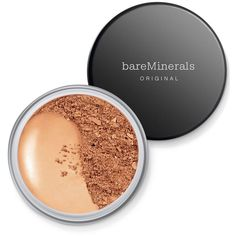 bareMinerals Original Spf 15 Foundation (1.640 RUB) ❤ liked on Polyvore featuring beauty products, makeup, face makeup, foundation, light beige, bare escentuals, bare escentuals foundation and spf foundation