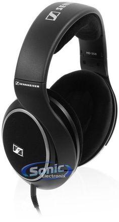 Sennheiser HD 558 Professional Open-Back Padded Over-Ear Headphones (NEW HD558) #Sennheiser